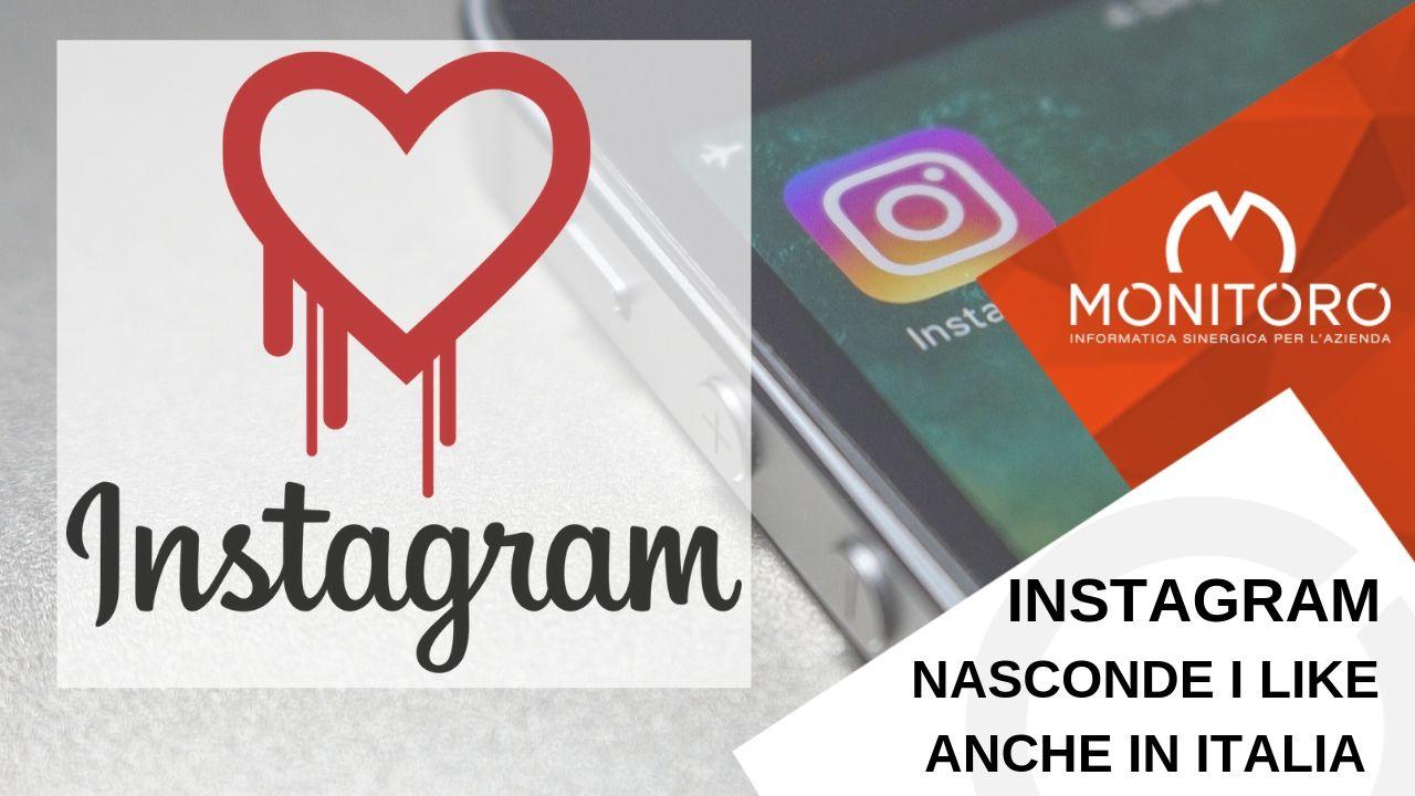 """Instagram nasconde il numero di """"Like"""" anche in Italia"""
