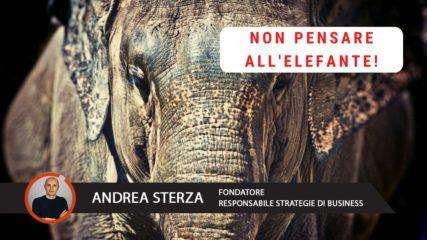 Non pensare all'elefante